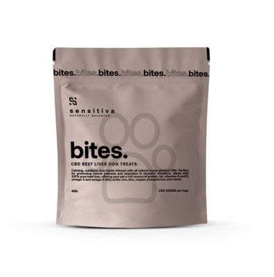 Sensitiva Beef Liver Bites 250 mg