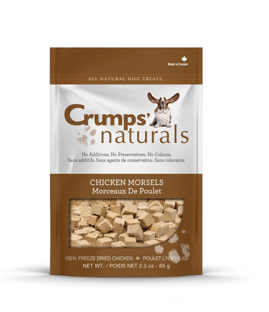 Crumps Naturals Chicken Morsels 65 g