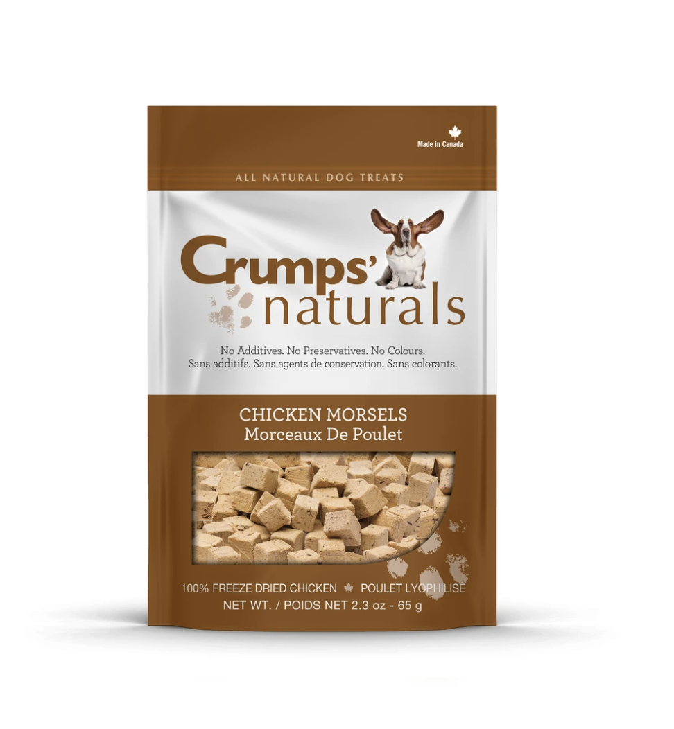 Crumps' Naturals Dog Chicken Morsels 10 oz
