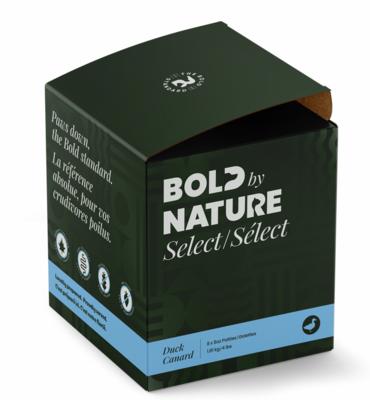 Bold Dog Select Duck Patties 4lb