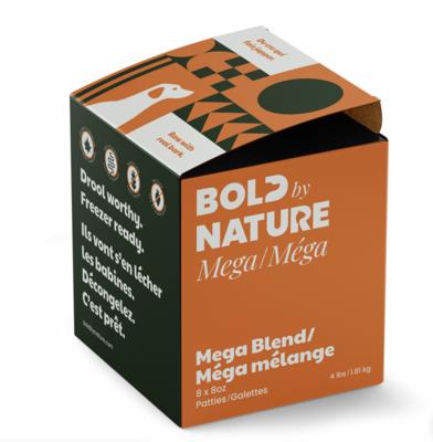 Bold Dog Mega Blend Patties 4lb