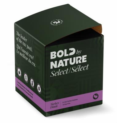 Bold Dog Select Turkey Patties 4lb