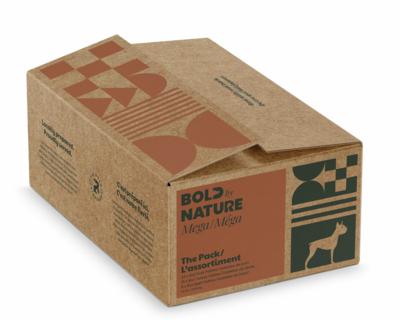 Bold Dog Mega Variety Box No Chicken 24lbs