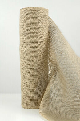 Hessian (Jute ) cloth 10m natural brown
