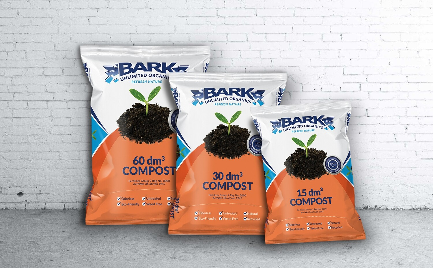 Compost 60DM bagged