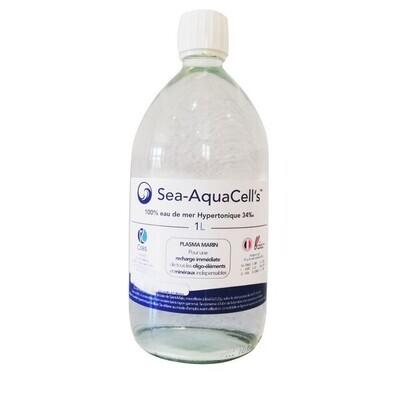 !  A SAISIR - CAUSE DEGÂT DES EAUX  !  Sea-AquaCell's hypertonique 1L