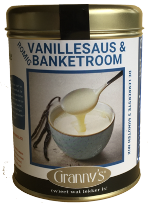 banketroom & vanillesaus 510gr