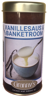 banketroom & vanillesaus 200gr