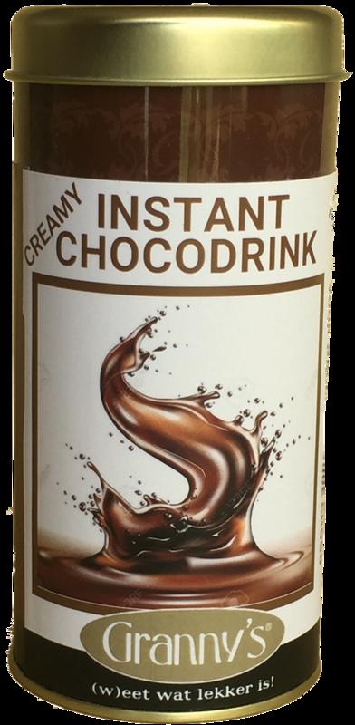 chocolade instant met chocolade 190 gr
