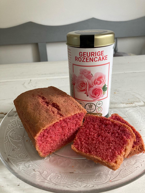Granny's Rozencake gluten- & lactosevrij  -voor 2 cakes inclusief bakvorm-