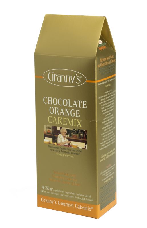 chocolate orange cakemix