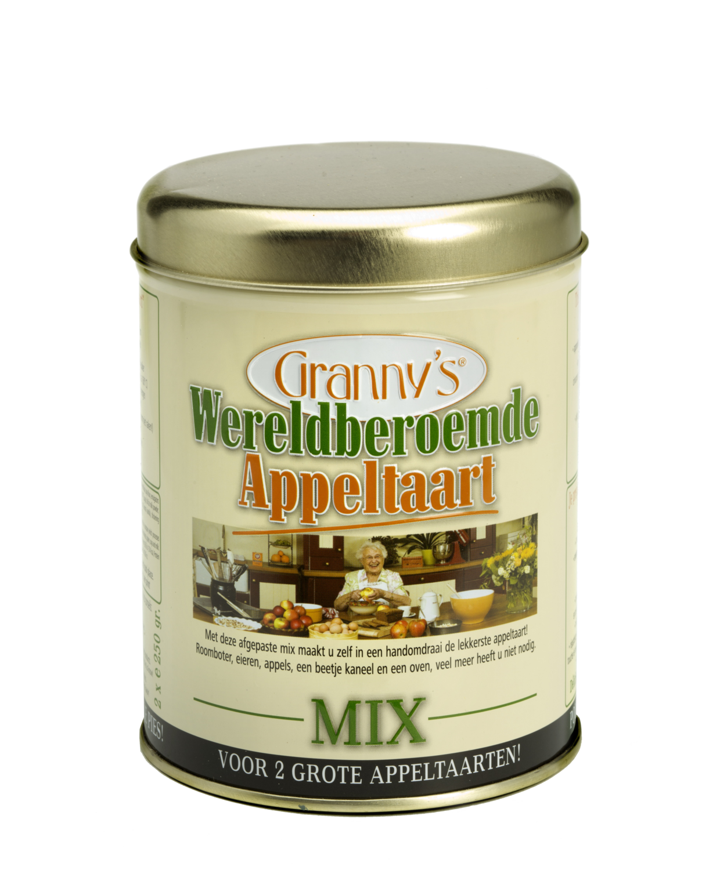 Granny's Wereldberoemde Appeltaart mix
