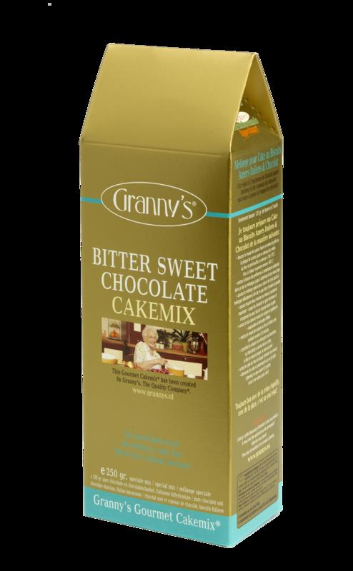 bittersweet chocolate cakemix