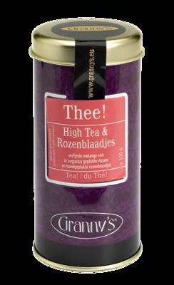 high tea rozenblaadjes