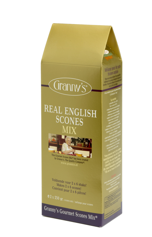 Engelse scones mix (2 x 250 gr)