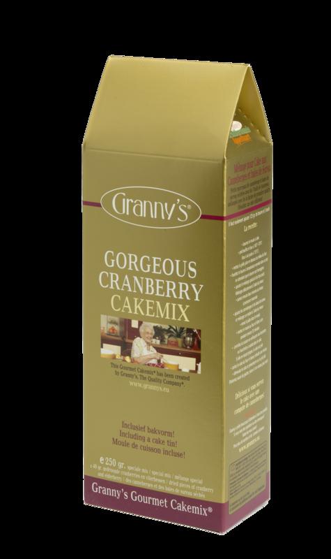 gorgeous cranberry cakemix
