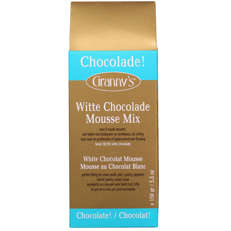 chocolademousse mix wit 58%