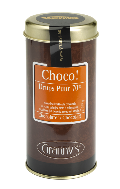 chocodrups puur 75%, 225  gr