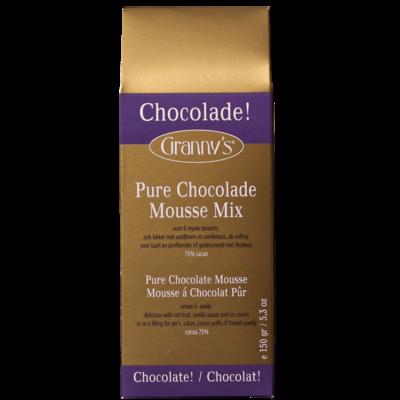chocolademousse puur 75%