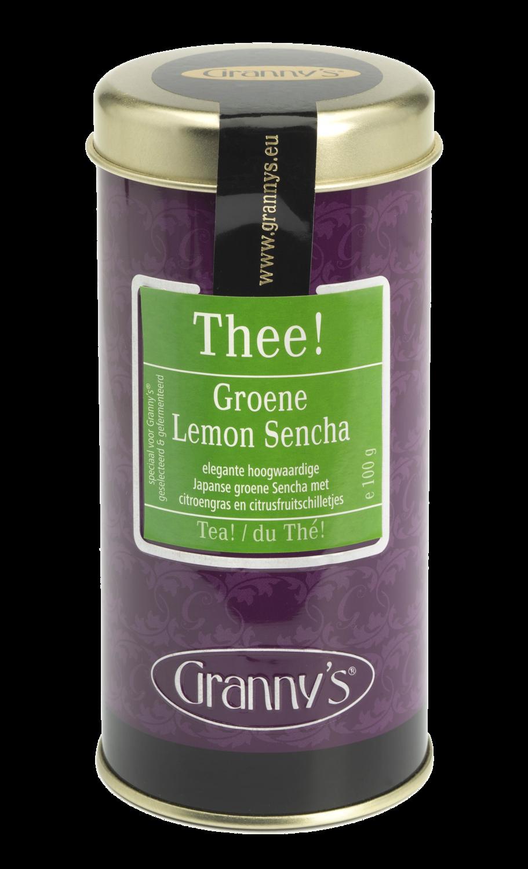 groene lemon sencha