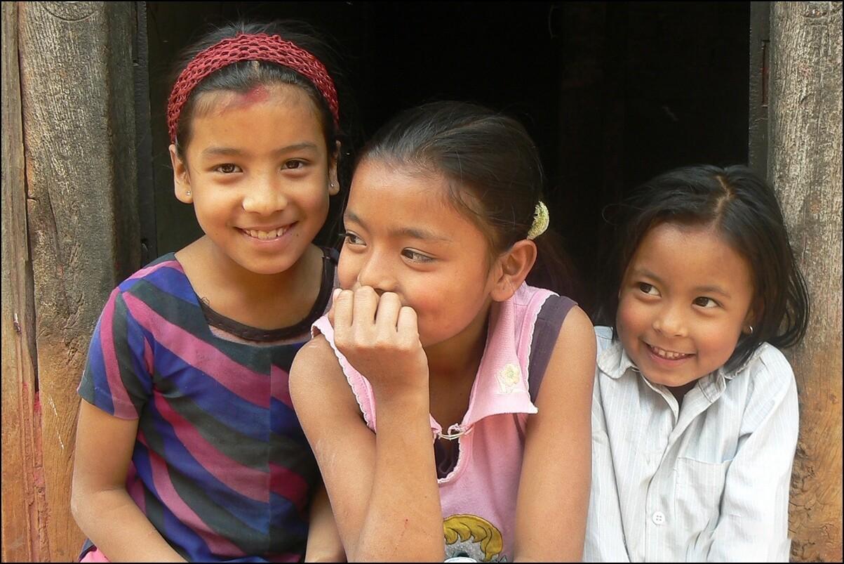 Nepalese kinderen