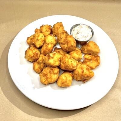 Calugas de pescado frito