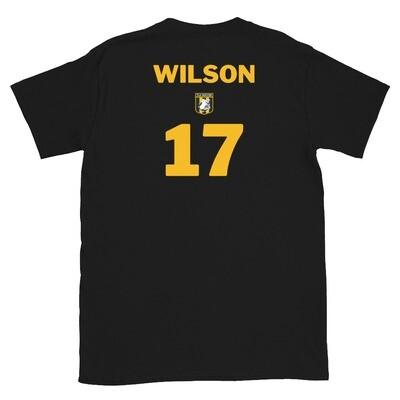 Number 17 Wilson Short-Sleeve Unisex T-Shirt