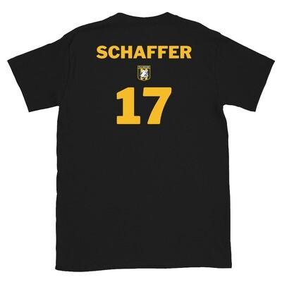 Number 17 Schaffer Short-Sleeve Unisex T-Shirt