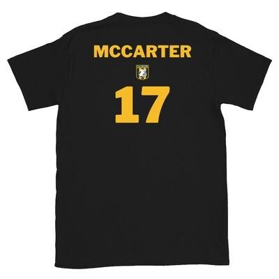 Number 17 McCarter Short-Sleeve Unisex T-Shirt