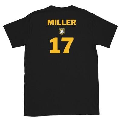 Number 17 Miller Short-Sleeve Unisex T-Shirt