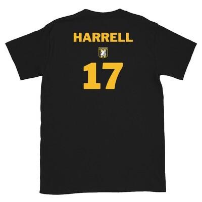 Number 17 Harrell Short-Sleeve Unisex T-Shirt