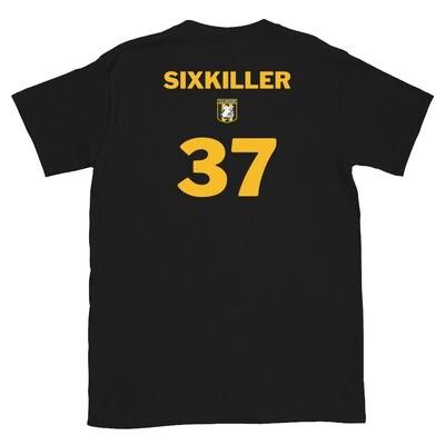 Number 37 Sixkiller Short-Sleeve Unisex T-Shirt