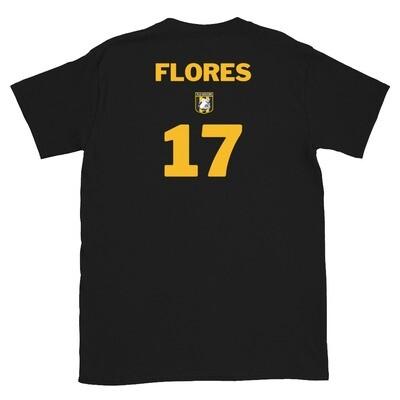 Number 17 Flores Short-Sleeve Unisex T-Shirt