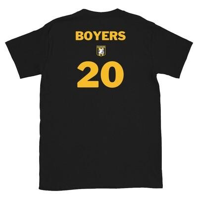 Number 20 Boyers Short-Sleeve Unisex T-Shirt