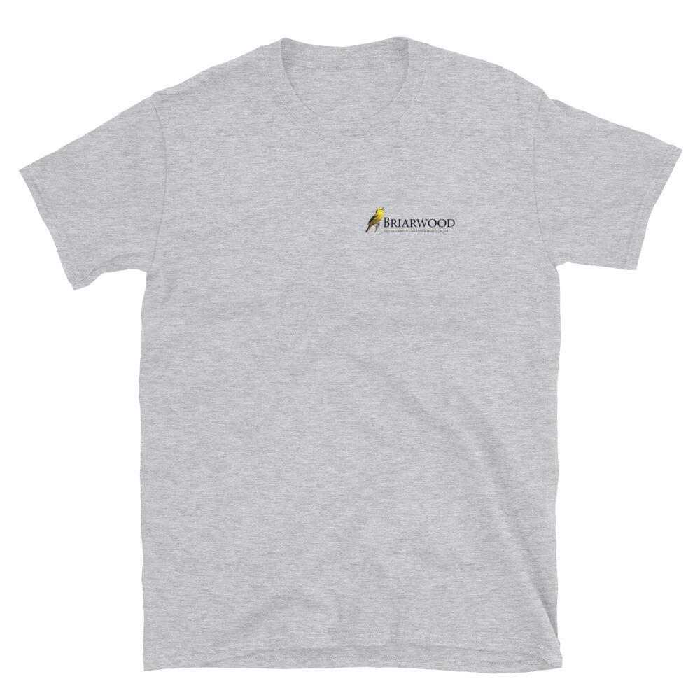 Briarwood Detox Dark Logo Short-Sleeve Unisex T-Shirt