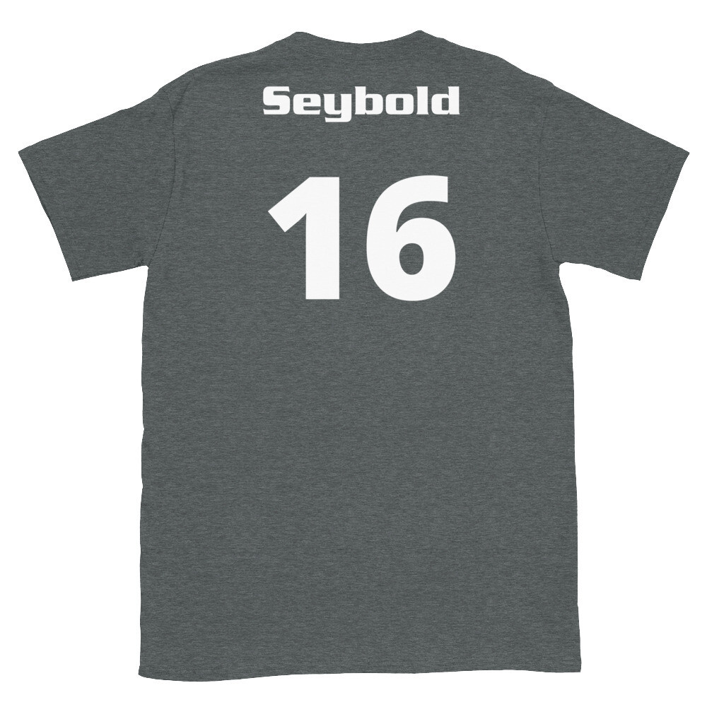 TLU Softball Number 16 Seybold Short-Sleeve Unisex T-Shirt