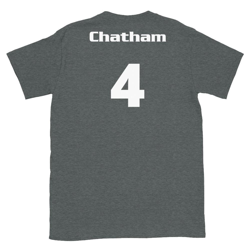 TLU Softball Number 4 Chatham Short-Sleeve Unisex T-Shirt
