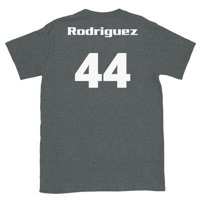 TLU Softball Number 44 Rodriguez Short-Sleeve Unisex T-Shirt