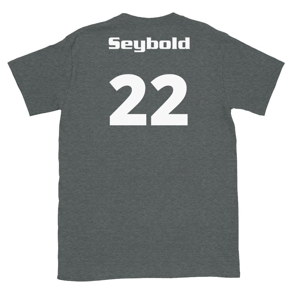 TLU Softball Number 22 Seybold Short-Sleeve Unisex T-Shirt