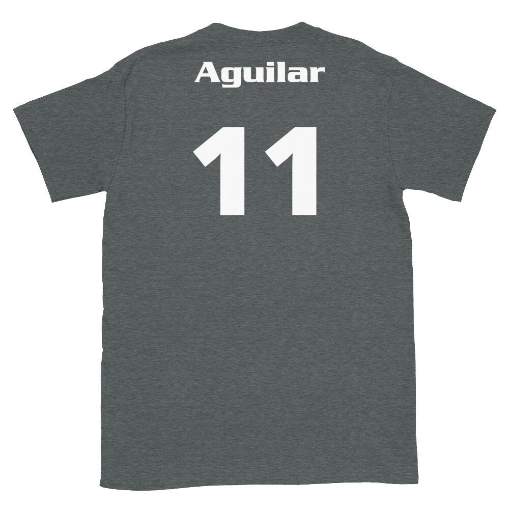 TLU Softball Number 11 Aguilar Short-Sleeve Unisex T-Shirt