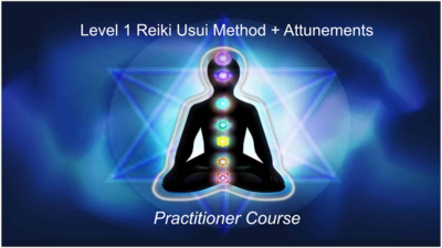 Usui Reiki Level 1 Practitioners Course FREE
