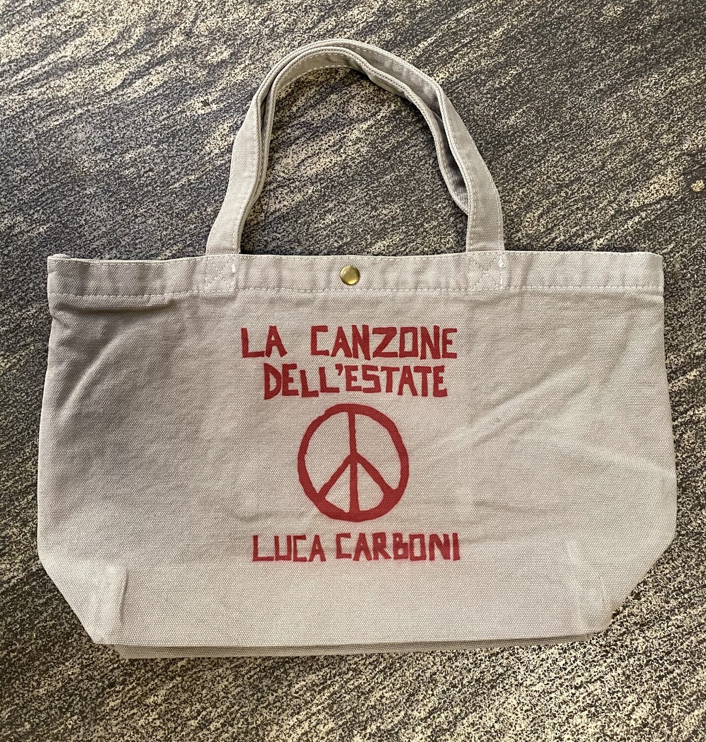 "Borsa SMALL, ""La Canzone dell'estate"" - Luca Carboni"