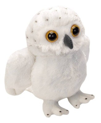 "Wild Republic - Snowy Owl Stuffed Animal - 7"""