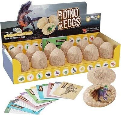 Dan&Darci - Dig a Dozen Dino Eggs Kit