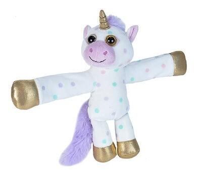 "Wild Republic - Huggers Polka Dot Unicorn Stuffed Animal - 8"""