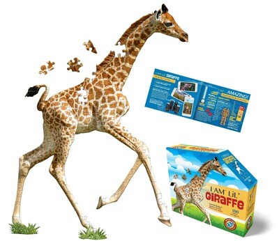 Madd Capp Games & Puzzles - Madd Capp Puzzle Jr. - I AM Lil GIRAFFE