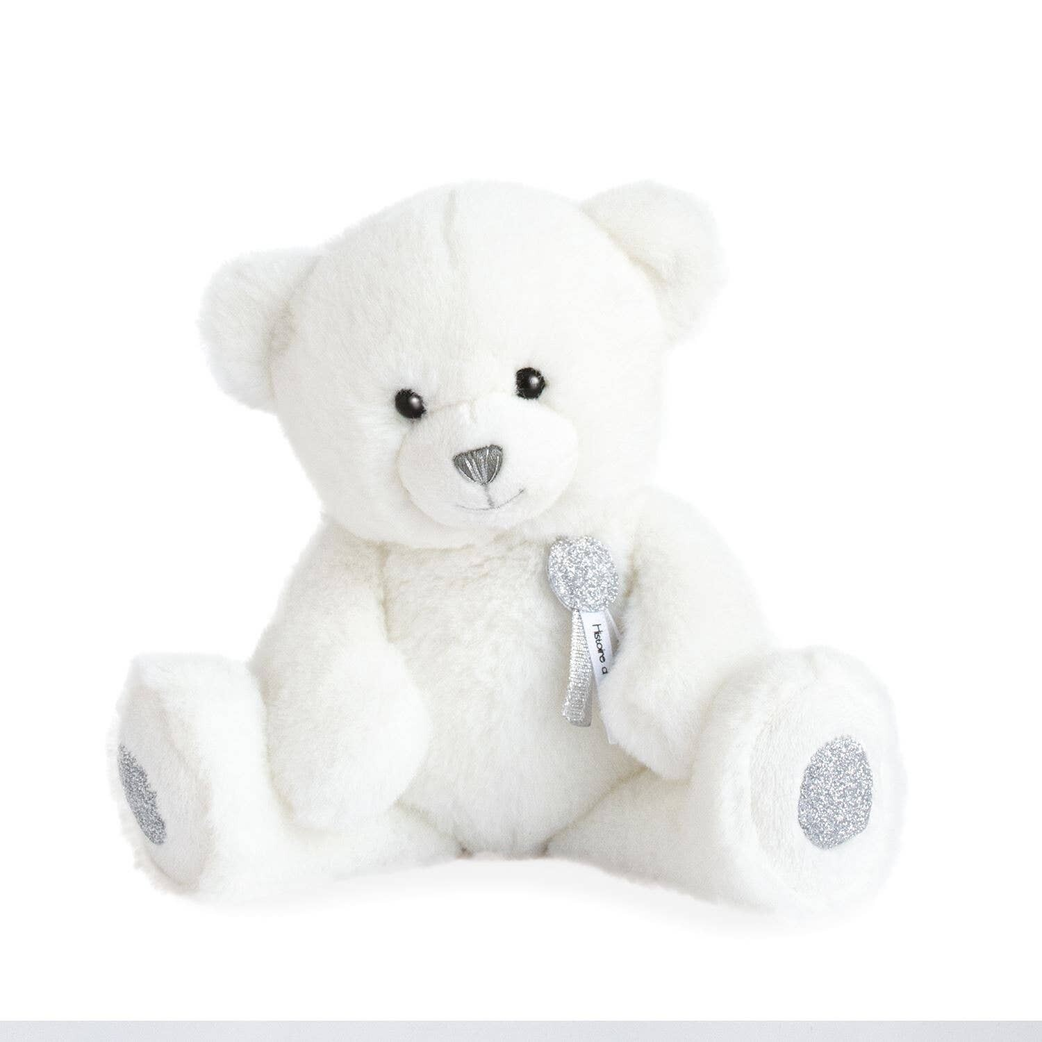 Doudou Et Compagnie - Charming Teddy Bear with Glitter Accents