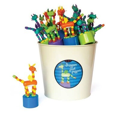 Jack Rabbit Creations - Dragon Push Puppets