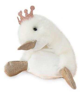 "Doudou Et Compagnie - 11.8"" Princesse Stuffed Animal Duck"