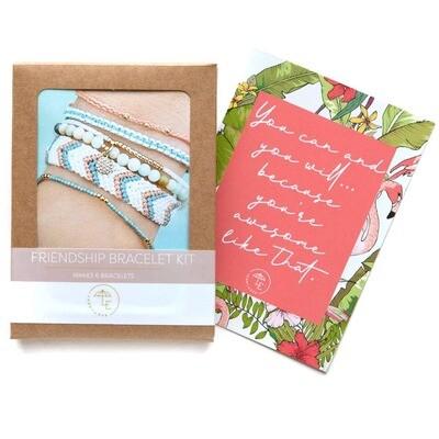 Lenny & Eva - Friendship Bracelet Kit - Turquoise